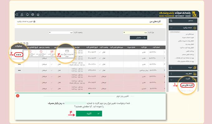 رمز-دوم-یکبار-مصرف-بانکداری-مجازی-بانک-پاسارگاد